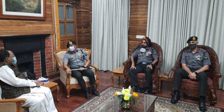 Assam Rifles DG PC Nair