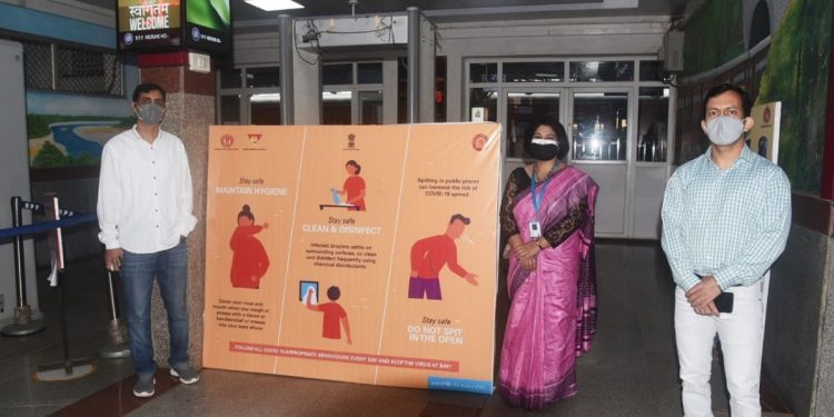 UNICEF, Northeast Frontier Railways join hands to spread COVID-19 awareness 1