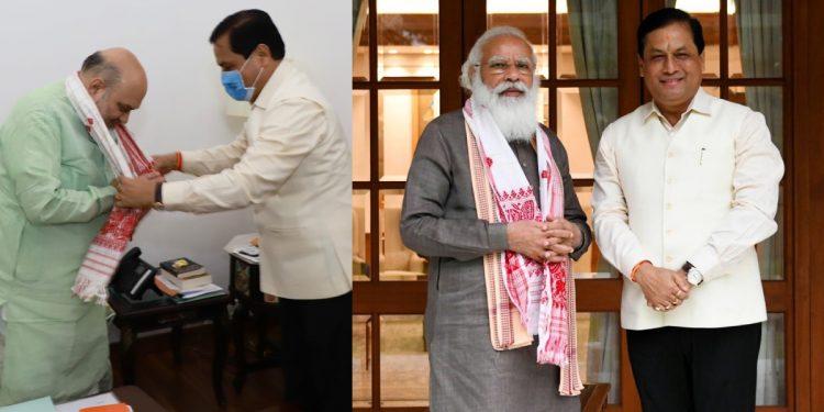 Former Assam CM Sarbananda Sonowal meets PM Narendra Modi, HM Amit Shah in New Delhi 1