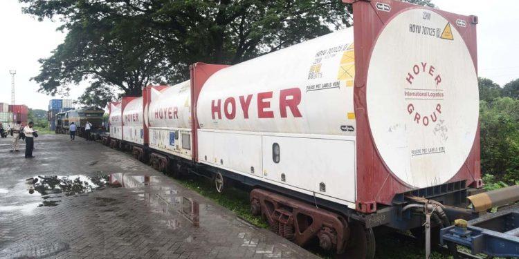 Oxygen Express on June 1