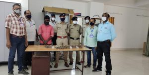 RPF of NF Railway rescues minor girl from train; recovers Chinese toys, stolen railway materials 3