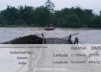 Ranganadi river NEEPCO