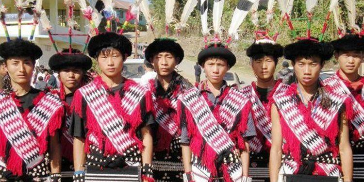 Rengma Naga people