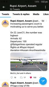 Assam: Rupsi Airport in Dhubri completes 50 days of successful operation 4