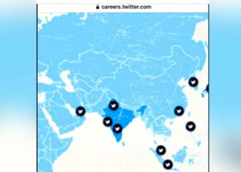 Twitter's India map