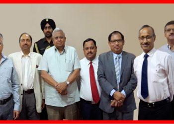 Meeting in Agartala Raj Bhawan on Indo-Bangladesh Regional Security Cooperation, 2017.