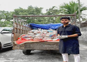 Kindness in despair: Assam YouTuber Rabbani Soyam provides relief to Covid-hit helpless villagers 2