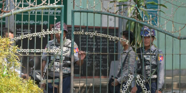 Myanmar military court sentences two journalists to jail 1