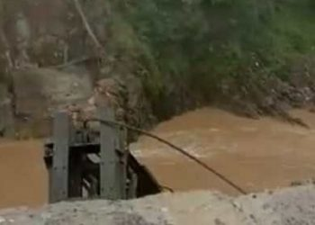 Arunachal Pradesh: Suspension bridge over Siyom River in Siang district collapses, 3 people missing 1