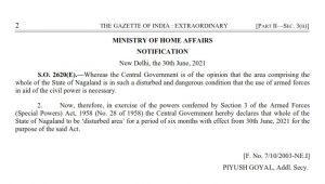 Entire Nagaland declared 'disturbed area' for 6 more months under AFSPA 4