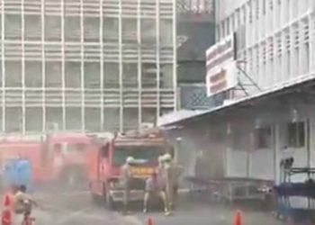 fire at AIIMS Delhi