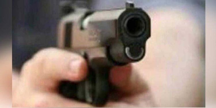 firearms pistol shot at