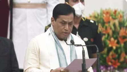 Sonowal gets ports, AYUSH; Rijiju gets law & justice; Rajkumar is MoS for education, Bhoumik is MoS for social justice 1