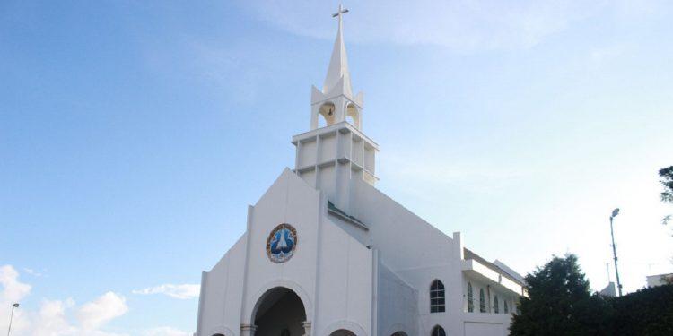 Presbyterian Church in Aizawl. File image.