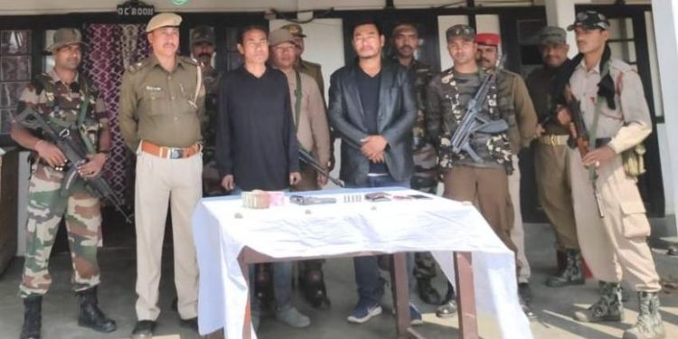 Arrested ZUF cadres (File image).