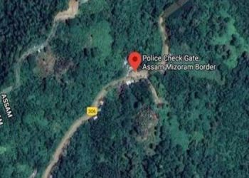 Assam Mizoram border
