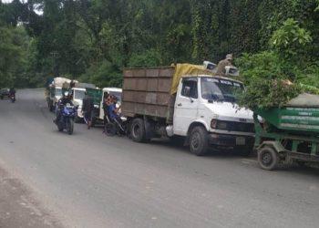 Dumping ground at Mawlai