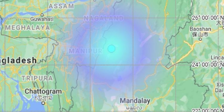 Earthquake in Myanmar shakes Manipur, tremors felt in parts of Northeast 1