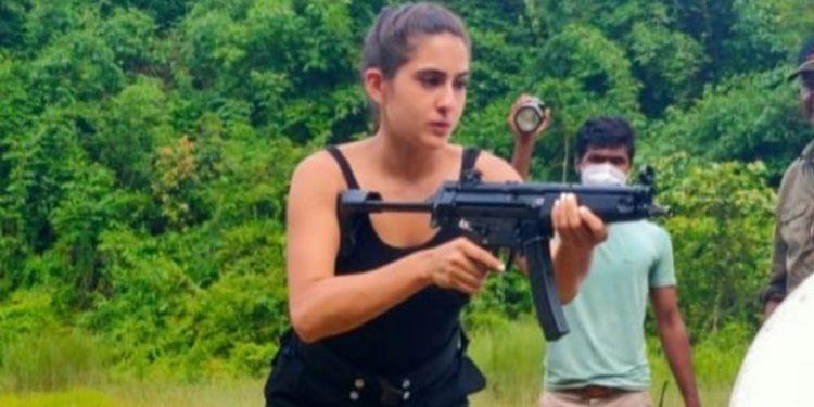 Sara Ali Khan in Guwahati for documentary shooting on Assam Police's 'Veerangana' battalion 1