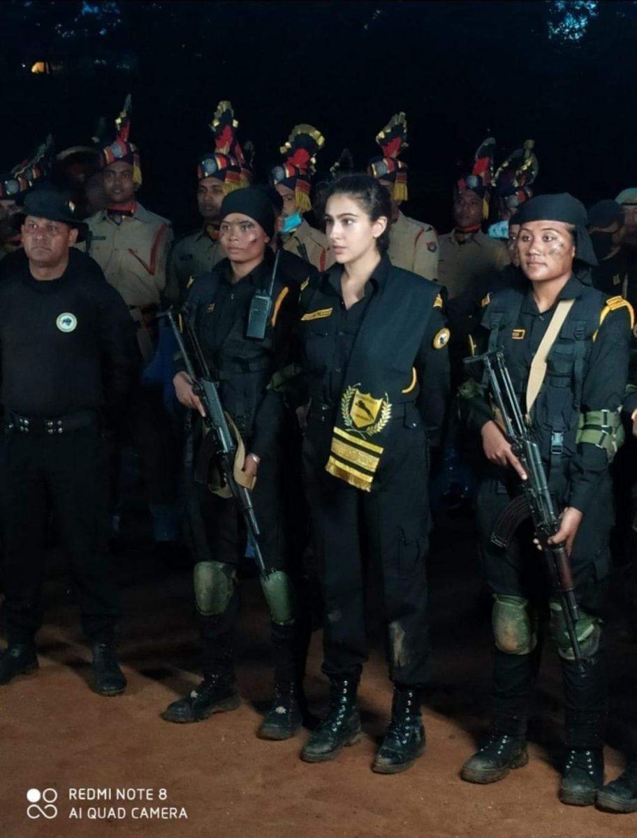Sara Ali Khan in Guwahati for documentary shooting on Assam Police's 'Veerangana' battalion 5