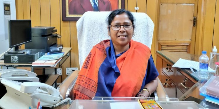 Tripura MP Pratima Bhoumik takes charge as union minister of state for social justice and empowerment 1