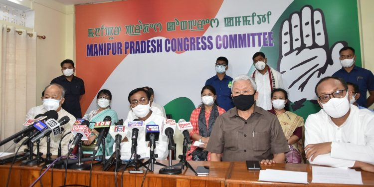 Manipur Congress crisis: Party in-charge for state Bhakta Charan Das meets office bearers, leaders 1