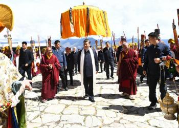 Chinese president Xi Jingping makes first official trip to Tibet, visits town near Arunachal Pradesh 6
