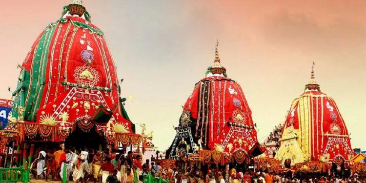 Devotee-less Rath Yatra in Puri today 1