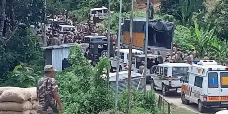 Mizoram alleges economic blockade, destruction of railway lines by Assam 1