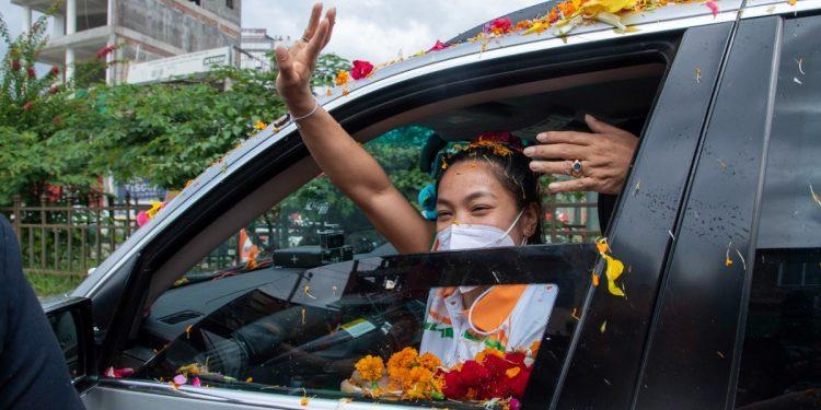 Tokyo Olympics medallist Manipur's Mirabai Chanu returns home, accorded hero's welcome 1