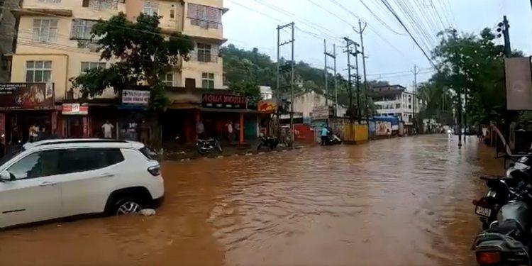Assam: Short spell of rain inundates several parts of Guwahati 1