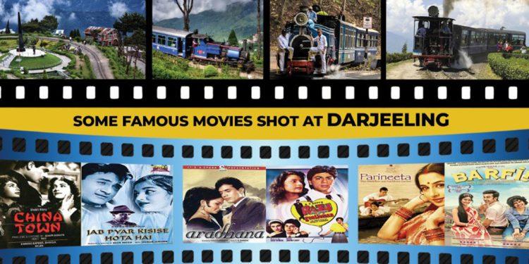 Film shooting in Darjeeling