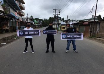 Meghalaya: Garo Students Union burns Home Minister Amit Shah's effigy in Tura 1