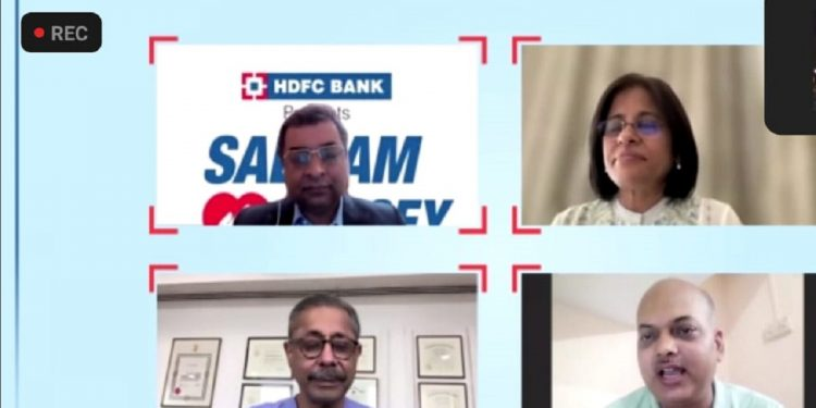 (From top left clockwise ) Arvind Vohra, Smita Bhagat, Sanjay Ojha and Dr Dr Naresh Trehan
