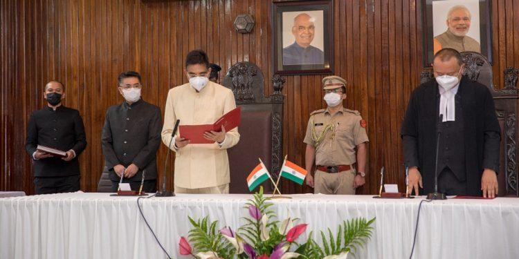 Kambhampati Hari Babu takes oath as 22nd Governor of Mizoram 1