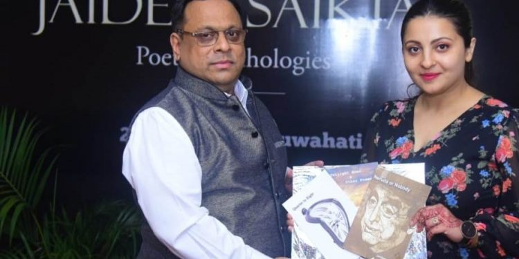 Assam: Conflict specialist Jaideep Saikia's three collections of poems released in Guwahati 1