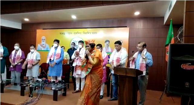 Assam: Ex-Congress leader Juri Sarma Bordoloi joins BJP 1