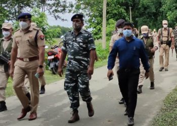 Assam Police and CRPF