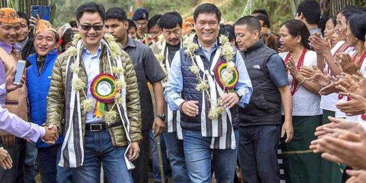 4 parties file FIR against Union Minister Kiren Rijiju, Arunachal Pradesh CM Pema Khandu over Kimin controversy 1