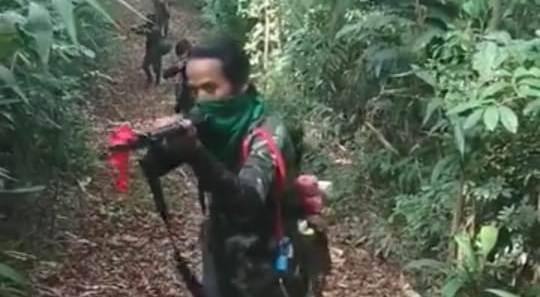 Kuki rebels. (File image)