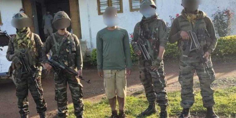 Two Manipur militants arrested 1