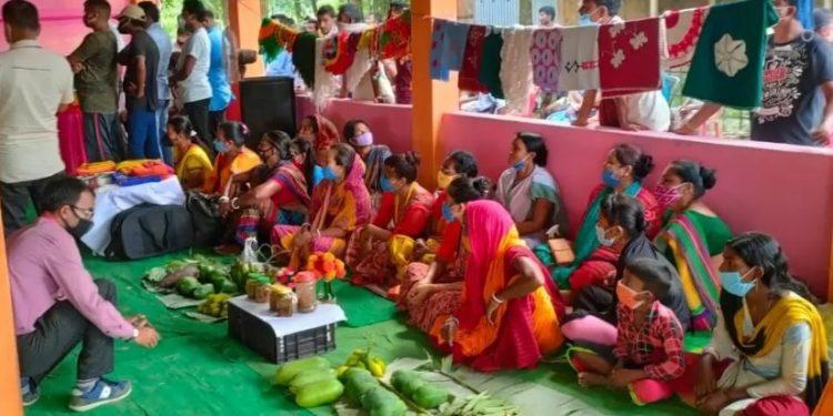 Assam: All-women market opened in Cachar along Indo-Bangla border 1