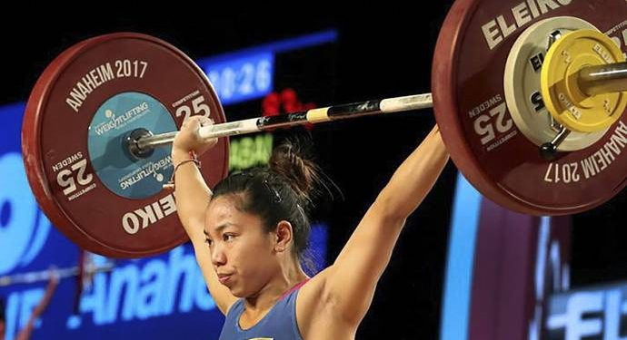 Mirabai Chanu won the silver medal in the Women's 49kg category.