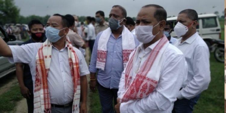 Assam-Arunachal border row: Minister Suklabaidya visits disputed areas 1