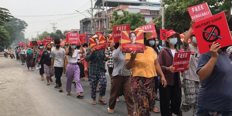 Myanmar Army releases 2,200 jailed protesters 1