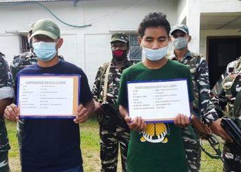 Two NSCN militants surrender in Arunachal Pradesh 1