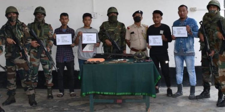 Nagaland: 4 NSCN (K) cadres held in Kohima 1
