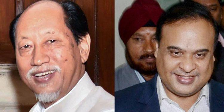 Assam CM Himanta Biswa Sarma meets Nagaland CM Neiphiu Rio in New Delhi, discusses border issue 1