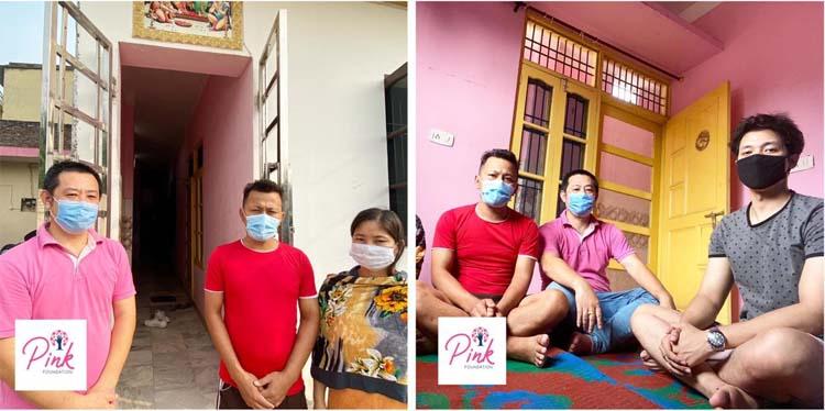 Pink Foundation Volunteer With S. Premchand_2