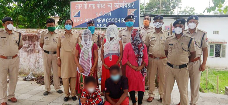 Representative photo rescued by railway police